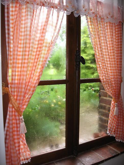 A travers la fenêtre...