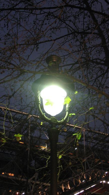 lampadaire parisien
