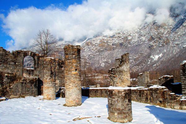 Ruins of Serravalle Castle