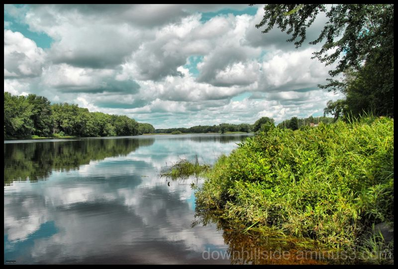 Penobscot River in Maine  (HDR)