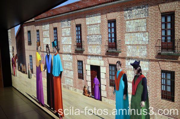 Fachada de la Universidad de Alcalá de Henares.
