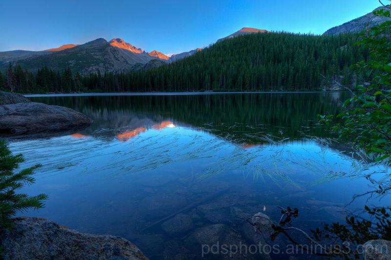 Bear Lake and Longs Peak 5