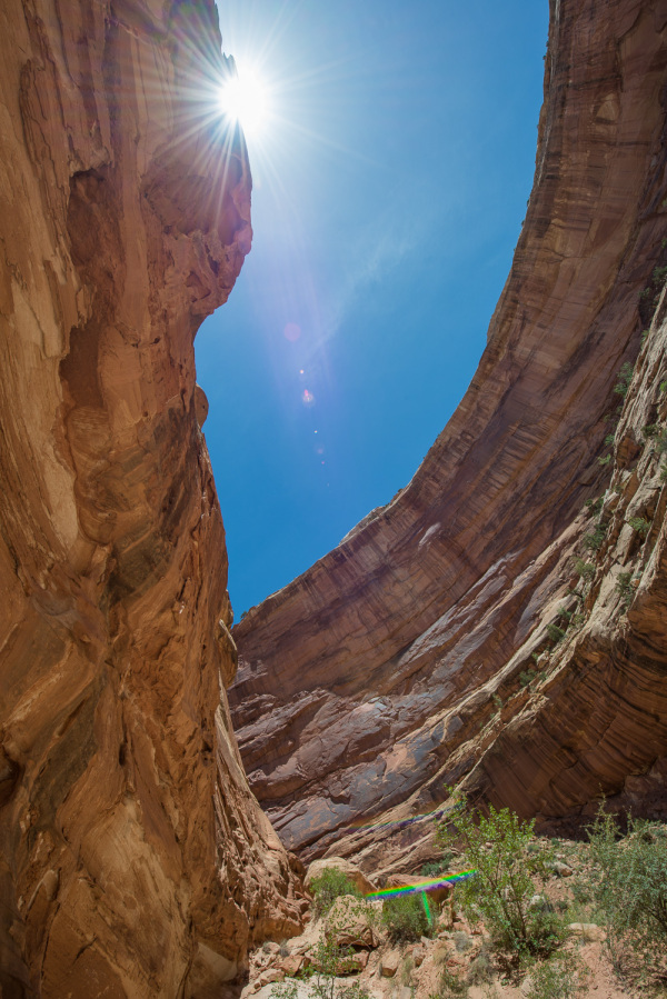 High Noon at Capitol Reef