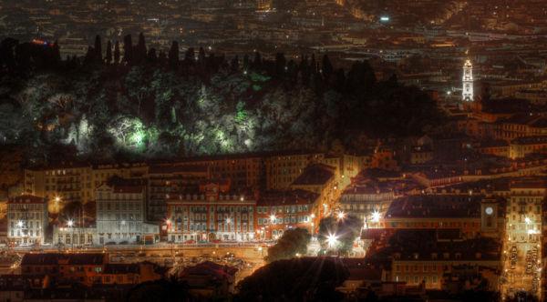 In city of light