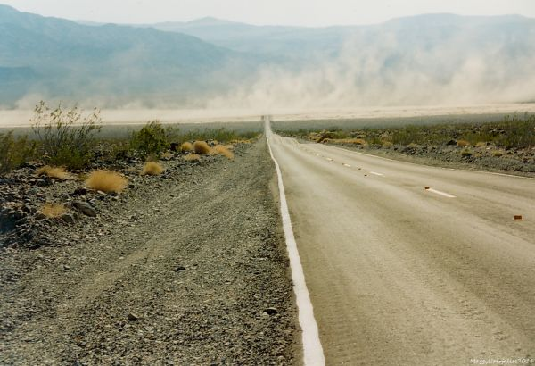 Dans le désert....