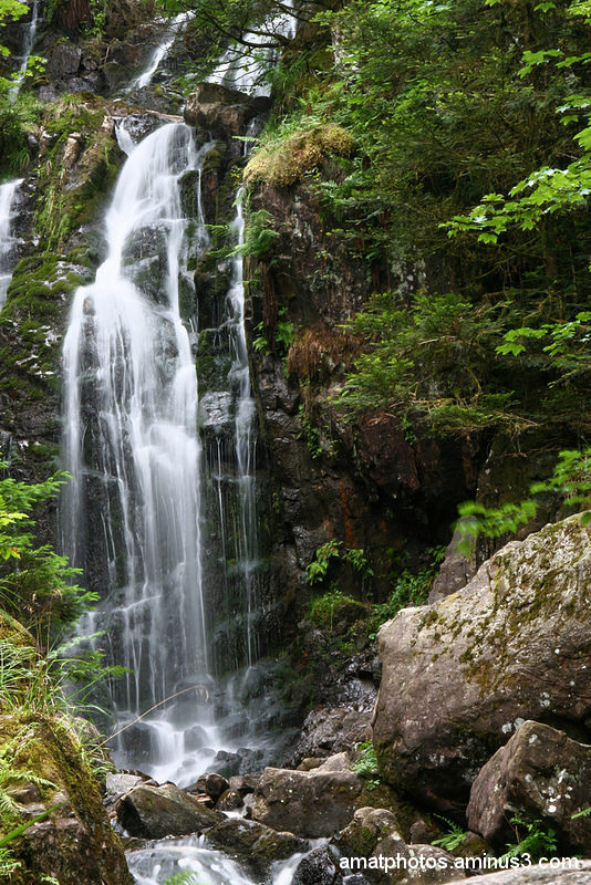 La Grande Cascade de Tendon vosges