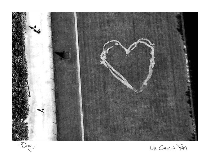 Coeur vu de la Tour Effeil, Paris