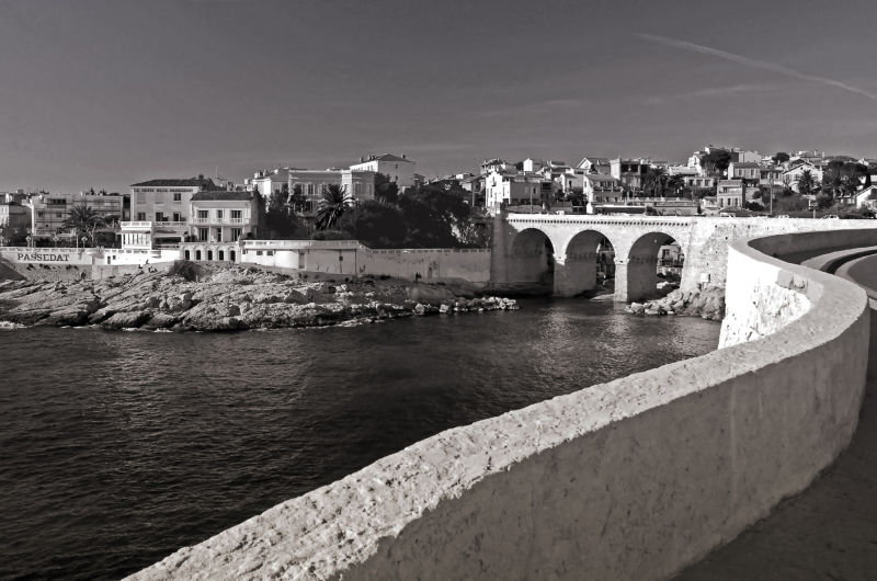 pont de la fausse monnaie à marseille