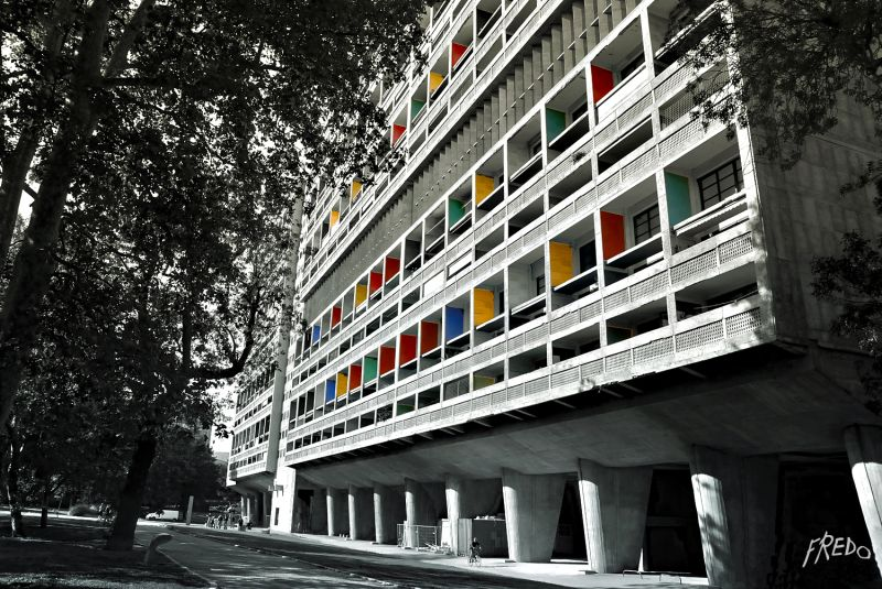 le corbusier à Marseille