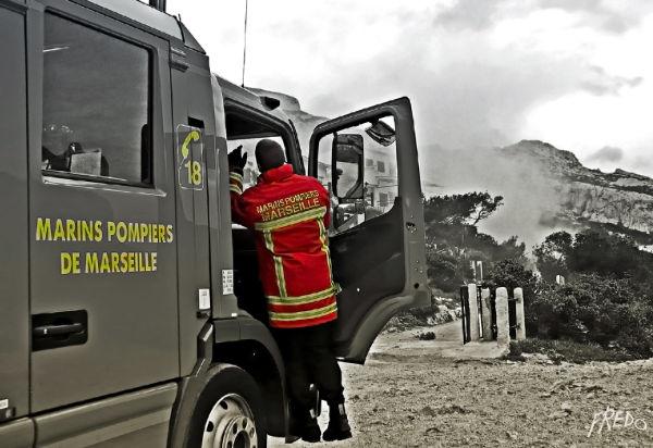 pompiers à sormiou