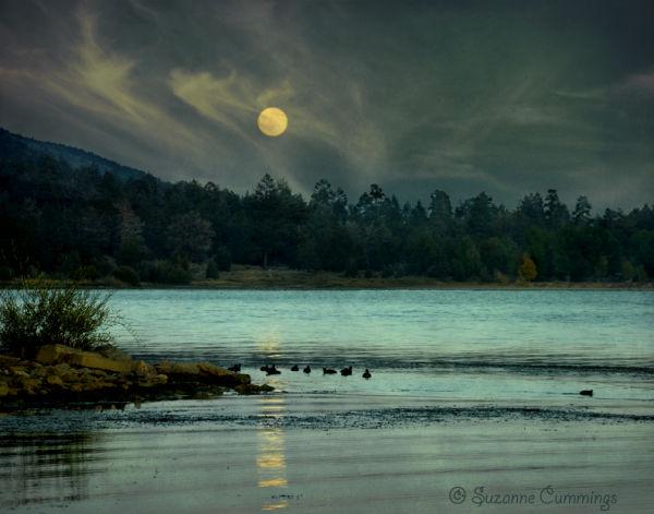 Moonlight, Big Bear Lake