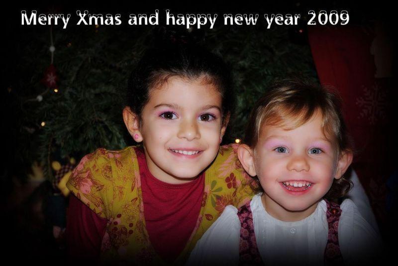 LALY et LENA vous souhaitent un joyeux Noel