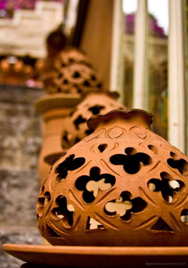 A ceramic store in Taormina