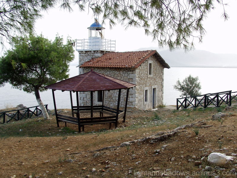 Astros Greece Picnic LIghthouse