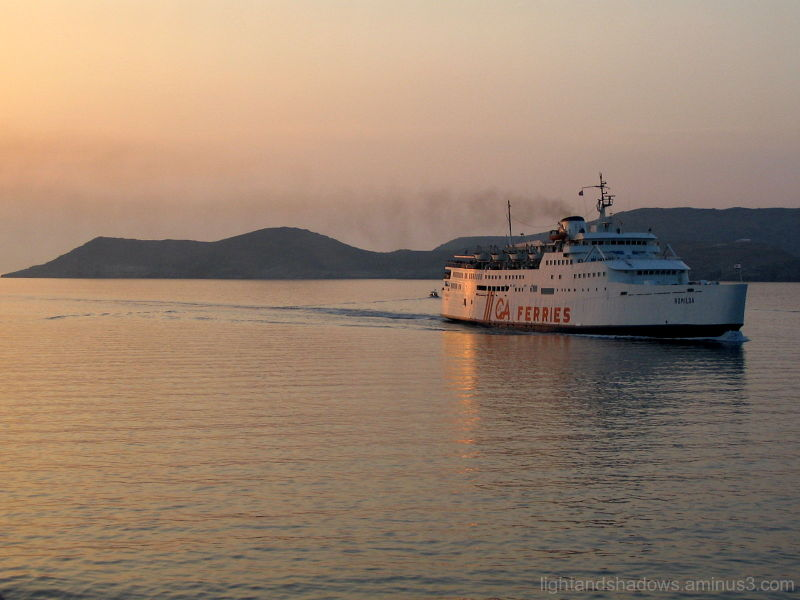 Travelling in the Aegean