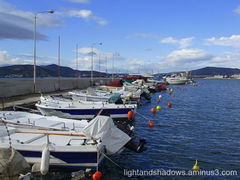 boats at volos greece