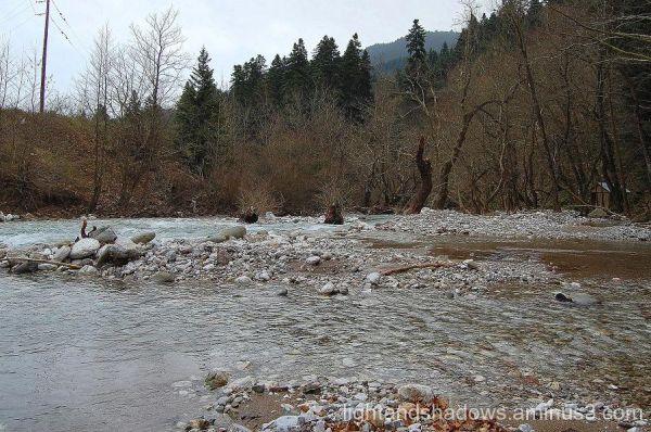 river megdovas greece