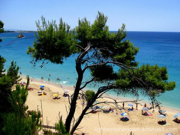 beach at kefalonia greece