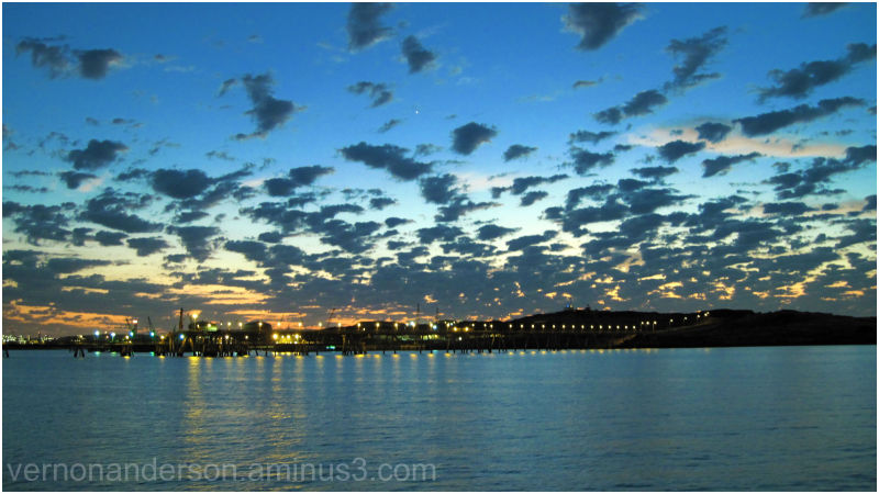 Dampier, W.A, sunrise