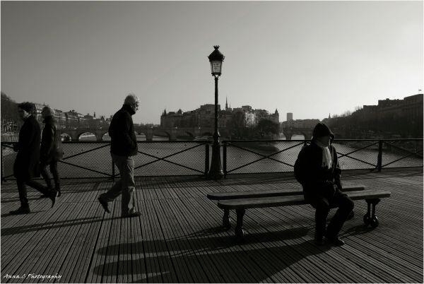 Si par hasard, sur l'pont des Arts...