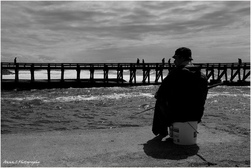 L'attente du pêcheur