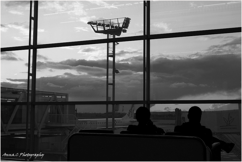 Attente à Orly