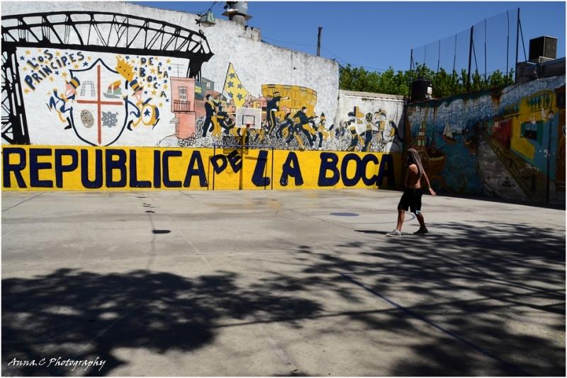 Buenos Aires # 6 La Boca - république du foot