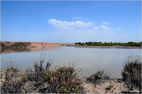 Halte sur les rives du Rio Chubut