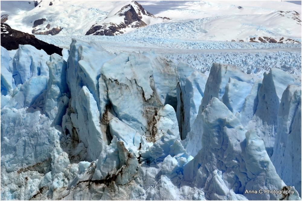 Perito Moreno - le front du glacier