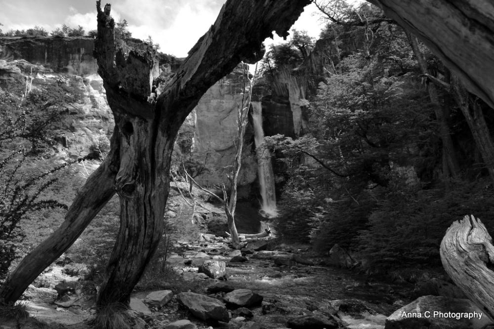 La cascade aux Condors
