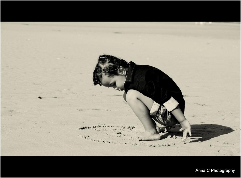 Des ronds sur le sable / Dessine moi ton univers..