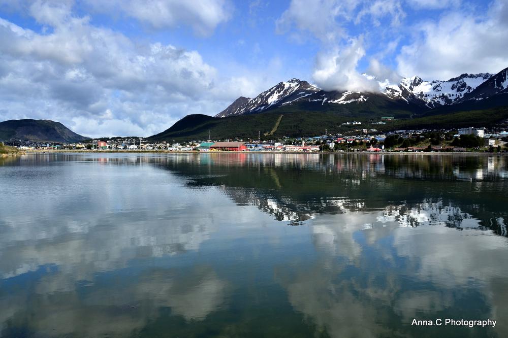 Ushuaia - Fin del Mundo # 5  La baie d'Ushuaia