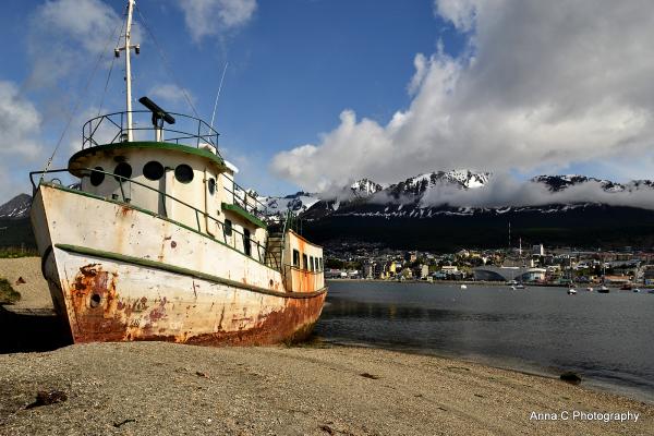 Ushuaia - Fin del Mundo # 7 l'épave
