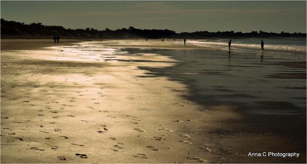 La plage des sables dorés