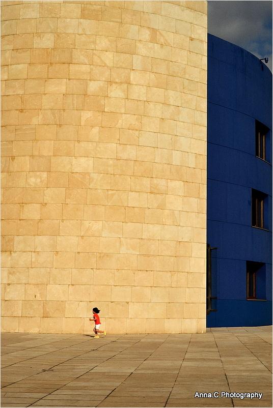 Guggenheim Bilbao # 8 - Run baby, run