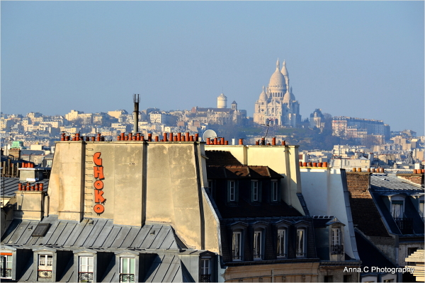 Sur les toits de Paris