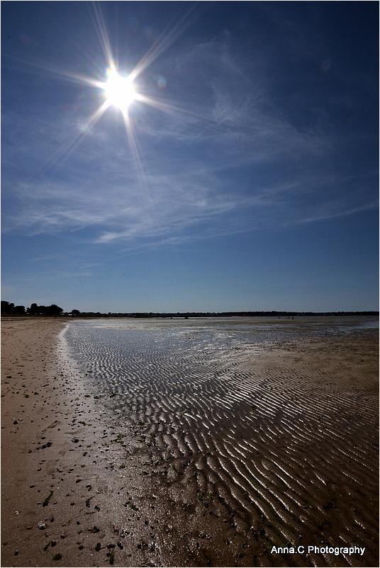 A star above the beach