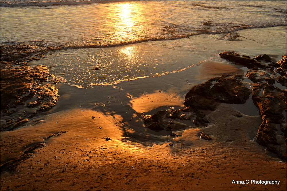 Les sables d'or