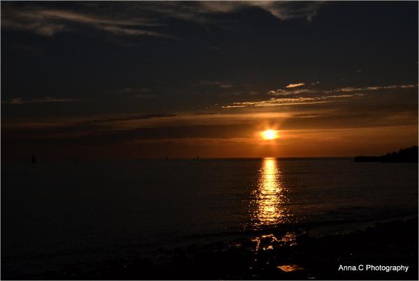 Black velvet sunset