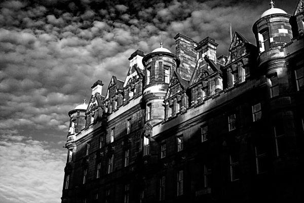 Edinburgh, street, christmas, scotland travel