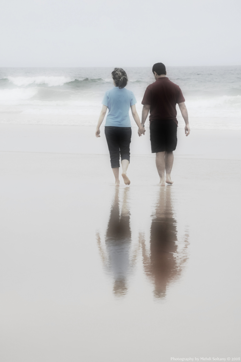 Pictures Of People Walking On The Beach
