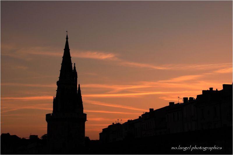 Un beau soir de juin à La Rochelle