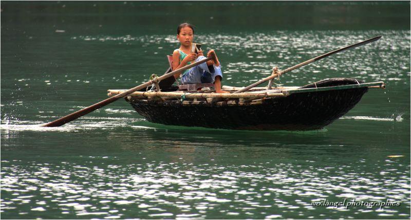 Le pédalo vietnamien