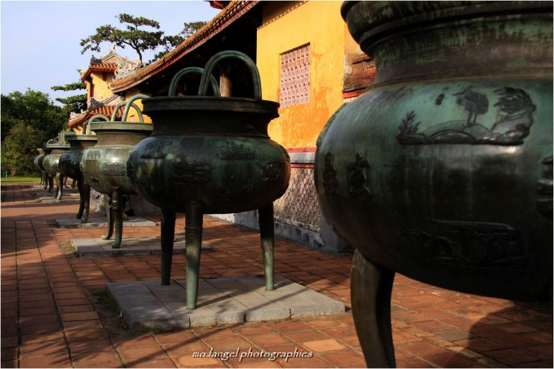 Les urnes de la Citadelle Interdite
