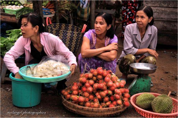 Le matin au marché