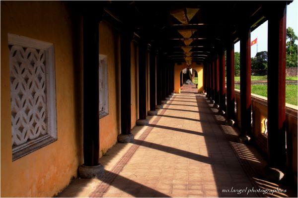 A travers les couloirs de la Cité Interdite