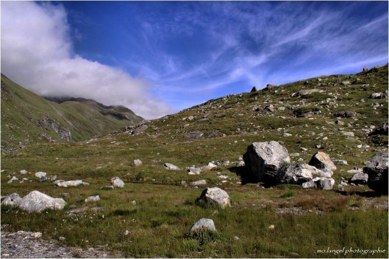 Crapahutage en montagne
