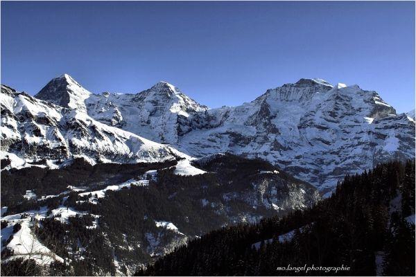 Eiger - Mönch - Jungfrau