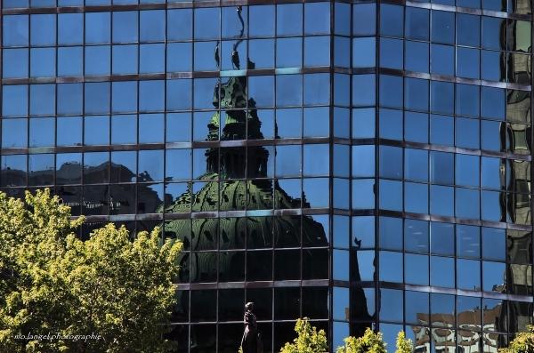 Reflets sur la ville II