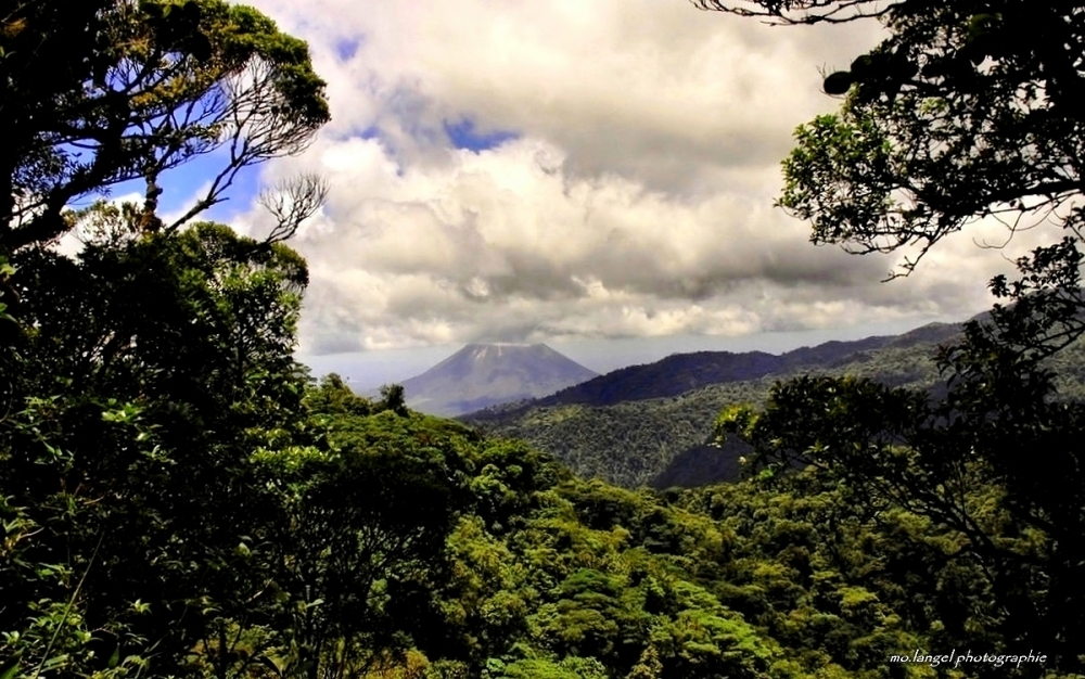 The rainforest and the Volcano